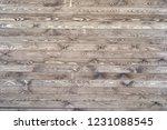 dark wood texture background... | Shutterstock . vector #1231088545