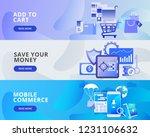 web banner illustration of add... | Shutterstock .eps vector #1231106632