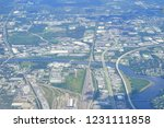 aerial view of tampa bay | Shutterstock . vector #1231111858