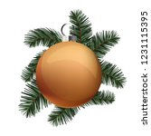 merry christmas decoration | Shutterstock .eps vector #1231115395