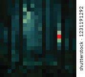 dark abstract mosaic background ... | Shutterstock .eps vector #1231191292