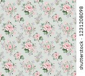 seamless watercolor pattern... | Shutterstock . vector #1231208098
