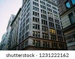 high building evening exterior... | Shutterstock . vector #1231222162