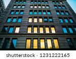 perspective urban setting view... | Shutterstock . vector #1231222165