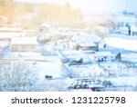 blure background winter... | Shutterstock . vector #1231225798