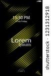 modern lock screen for mobile...