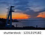 denia sunset skyline from las... | Shutterstock . vector #1231319182