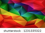 abstract geometric colorful... | Shutterstock .eps vector #1231335322