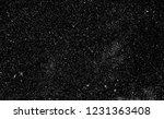 snow  stars  white dots bokeh... | Shutterstock . vector #1231363408