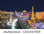 las vegas  usa   july 24  2018  ... | Shutterstock . vector #1231437535