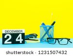 eve. december 24th. image 24... | Shutterstock . vector #1231507432
