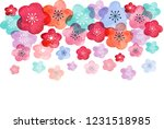 happy chinese new year 2019 ... | Shutterstock .eps vector #1231518985
