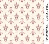 seamless decorative vector... | Shutterstock .eps vector #1231531462