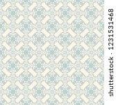 seamless decorative vector... | Shutterstock .eps vector #1231531468
