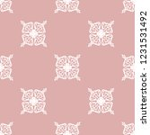 seamless decorative vector... | Shutterstock .eps vector #1231531492