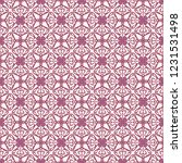 seamless decorative vector... | Shutterstock .eps vector #1231531498