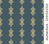 seamless decorative vector... | Shutterstock .eps vector #1231531522