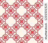 seamless decorative vector... | Shutterstock .eps vector #1231531525
