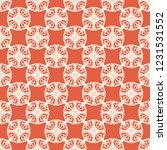 seamless decorative vector... | Shutterstock .eps vector #1231531552