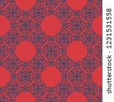 seamless decorative vector... | Shutterstock .eps vector #1231531558