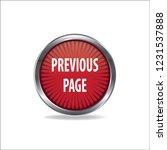 previous page vector button ...   Shutterstock .eps vector #1231537888