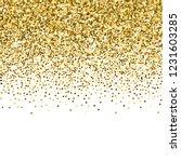 round gold glitter luxury... | Shutterstock .eps vector #1231603285