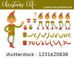 christmas elf character... | Shutterstock .eps vector #1231620838