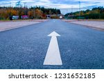 pedestrian street and road for... | Shutterstock . vector #1231652185