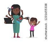 multitask vector illustration | Shutterstock .eps vector #1231655338