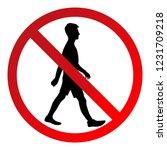 """Sign """"do Not Walk"""""""