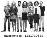 group of people | Shutterstock . vector #1231710562