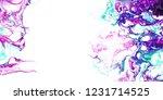 Marble Art. Fantastic Rainbow...