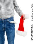 young unemployed man dressed in ...   Shutterstock . vector #1231726738