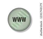 www vector button  web design... | Shutterstock .eps vector #1231743175