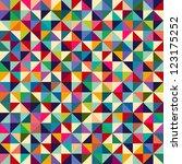 seamless geometric pattern | Shutterstock .eps vector #123175252