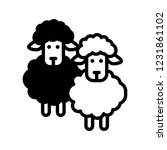 sheep  lamb icon | Shutterstock .eps vector #1231861102