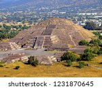 mexico  pre hispanic city of... | Shutterstock . vector #1231870645