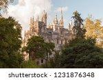 quinta da regaleira palace ... | Shutterstock . vector #1231876348