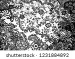 abstract background. monochrome ... | Shutterstock . vector #1231884892