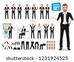 male business vector character...   Shutterstock .eps vector #1231924525