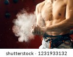 midsection portrait of muscular ... | Shutterstock . vector #1231933132
