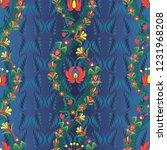 vector background with... | Shutterstock .eps vector #1231968208
