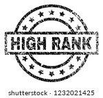 high rank stamp seal watermark...   Shutterstock .eps vector #1232021425
