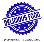 delicious food stamp seal...   Shutterstock .eps vector #1232022292