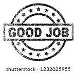 good job stamp seal watermark... | Shutterstock .eps vector #1232025955