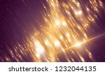 brilliant gold background with... | Shutterstock . vector #1232044135