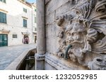 closeup detail of the famous... | Shutterstock . vector #1232052985