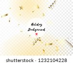 modern magic glitter confetti ... | Shutterstock .eps vector #1232104228