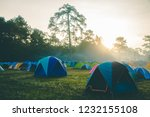 sunshine in the morning with a... | Shutterstock . vector #1232155108