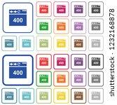 browser 400 bad request color... | Shutterstock .eps vector #1232168878